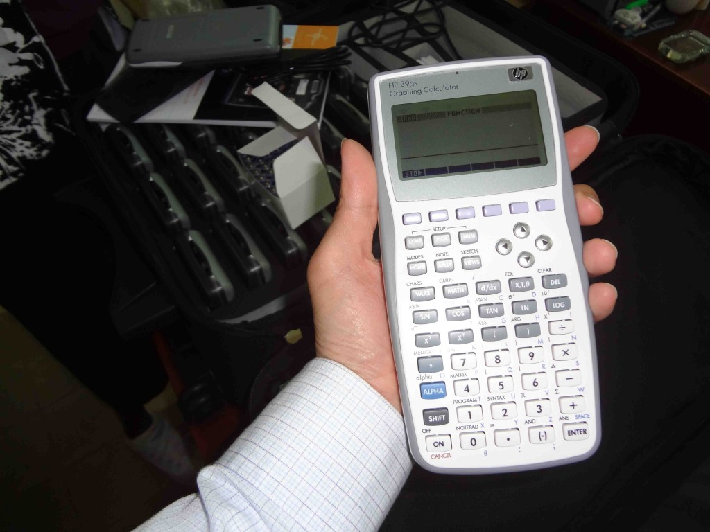 HP graphing calculator